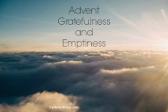 emptiness and gratefulness